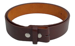 Brown Genuine leather Fashion Leather Belt, Size: 105 To 125 Cm