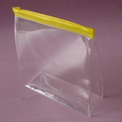 PVC Transparent Zipper Pouch