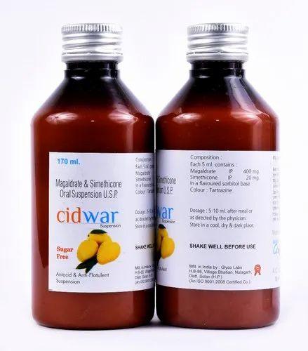Magaldrate 400mg   Simethicone 20 mg