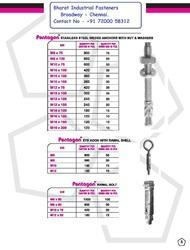 Anchor Fasteners - Pentagon