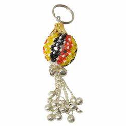 Beaded Ghunghru Keychain