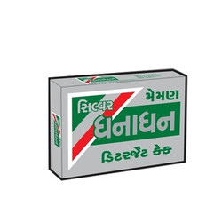 Silver Dhanadhan Detergent Cake, Packaging Type: Carton Box
