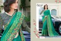 Designer Party  Embroidery Wear Saree