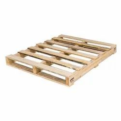 Reversible Two Way Wooden Pallet