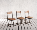 Industrial Railroad Cafe Chair