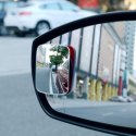 3R054 360 Degree Car Wide Angle Rectangle Convex Blind Spot Mirror(2 Pcs, Rectangle)