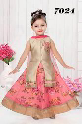 Girls Designer Lehengas For Diwali