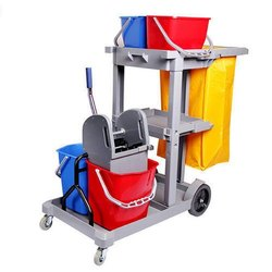 Platform Janitorial Cart