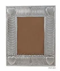 Pure Silver Fancy Photo Frame