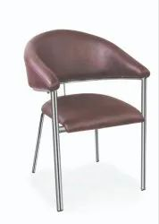 Low Back Visitor Chair with Chrome