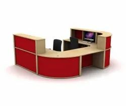 Red Reception Table