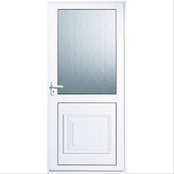Aluminium & Glass Bathroom Door