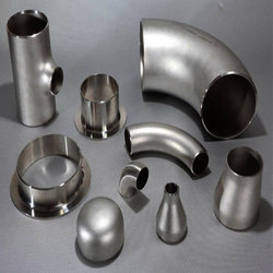 Silver Color Steel Pipe Fittings, Packaging Type: Box