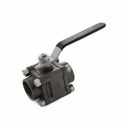 1088 Cast Steel Three Piece Design Ball Valve