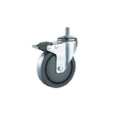 Medium Duty Thread with Brake Type Caster Wheels