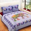 Traditional King Size Bed Sheet