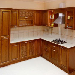 Commercial Wooden Modular Kitchen
