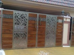 Gate Grill CNC Laser Cutting Services