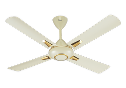 Mari Gold Ceiling Fan Ivory