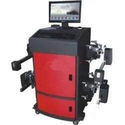 Automotive Wheel Alignment Machine