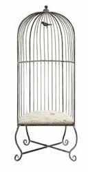Juggernaut India Metal Industrial Vintage Distress Finish Cage Chair, Size: 33x20x76 Inch, Seating Capacity: 1