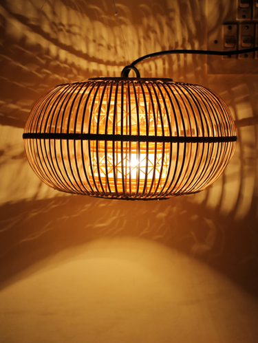 Bamboo lamp shade at rs 450 piece bamboo lamp id 16420219848 bamboo lamp shade mozeypictures Gallery