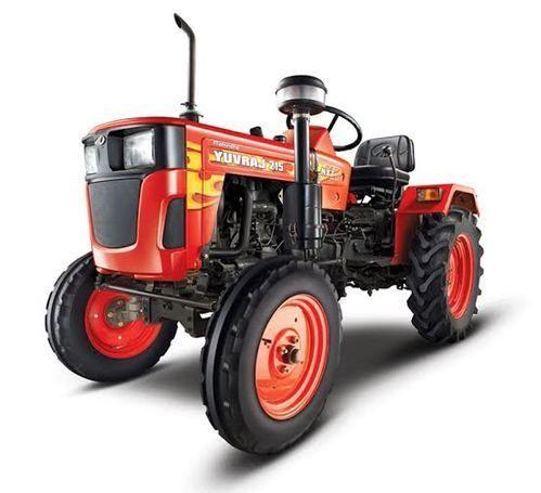 Red Mahindra Yuvraj 215 Mini Tractor, Mahindra Tractors (Div