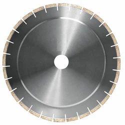 Stainless Steel Segmented Diamond Circular Saw Blade, For Cutting Natural Stone