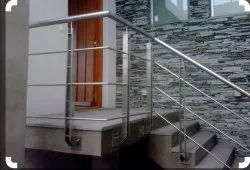 Stairs Side Mounted SS Railings
