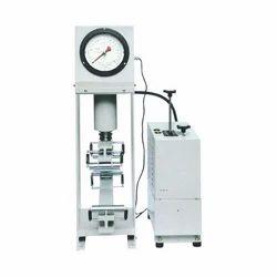 Electrical Cum Hand Compression Testing Machine