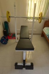 Multi Bench Press ( Rod & Weights Extra )