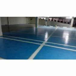 Commercial Building Water Resistant PU Flooring Services