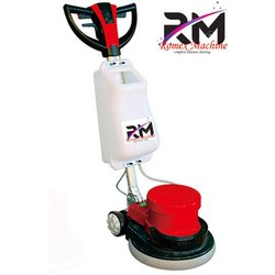 Romex Machine Plastic Heavy Duty Single Disc Floor Scrubber, Model Number/Name: Rcm204, 17 Inch