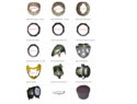 Apache RTR Motorcycle Parts