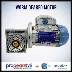 Worm Geared Motor