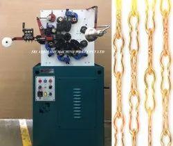 Crinkle Chain Link Making Machine
