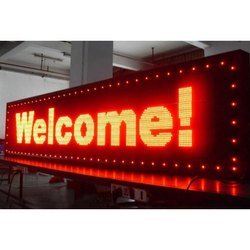 Single Color Indoor LED Display Board