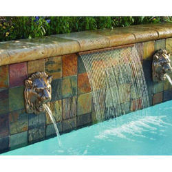 Silver Mild Steel Water Fountain