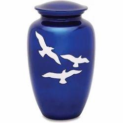 Aria Bird Adult Brass Cremation Urn