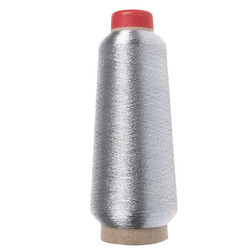 Silver Zari Thread, For Embroidery
