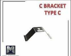 Stainless Steel Silver C Bracket Type C