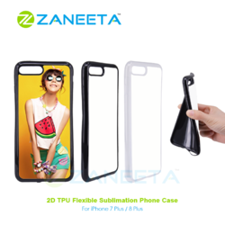 2D Sublimation Flex Covers For iPhone