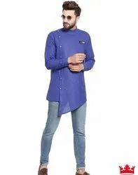 Party Wear Cotton Designer Men Kurta