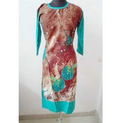 Medium Ladies Rayon Printed Kurti