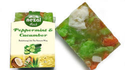 Rock Cucumber Handmade Soap