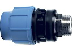HDPE Male Threaded Adapter, Size: 1/2 inch