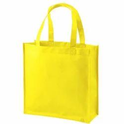 Yellow Jute Handbag
