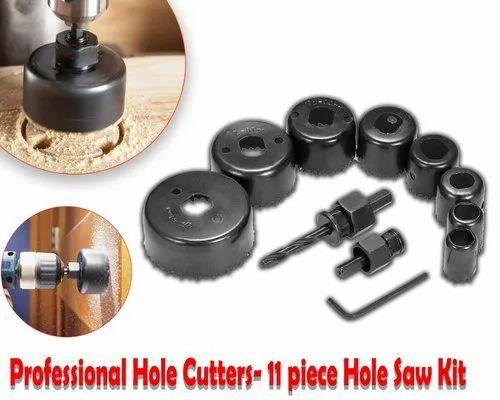 16PC HOLE SAW CUTTING SET WOOD METAL ALLOYS KIT 19-127MM