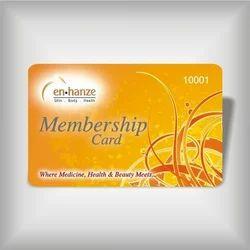 Rectangular PVC Membership Card