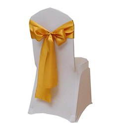 Satin Ribbons for Wedding Chairs